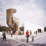паметникът пред НДК и войнишки мемориал на едно място (проект за осъвременяване на Юлиян Манев)