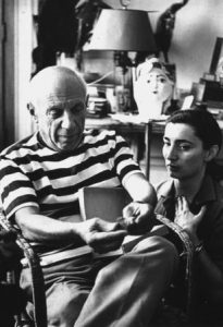 jacqueline roque with pablo picasso