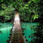 въжен мост в Коста Рика