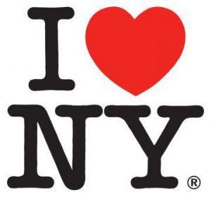 аз обичам Ню Йорк лого